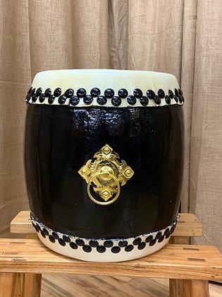 "Taiko Drum - 16"" - Black Wood"