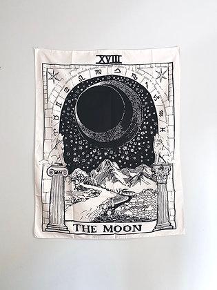 """Bandeira Tarot """"The Moon"""""""