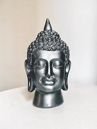 Cabeça de Buda Prateada