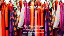 PARIS : vente privée chez Nicole Pittaco, du 26 au 28 mai 2016