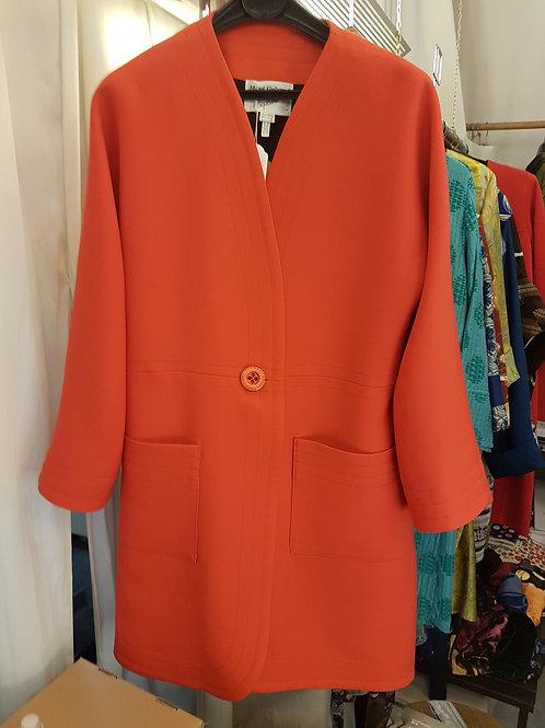 Manteau de drap de laine.double soie 490