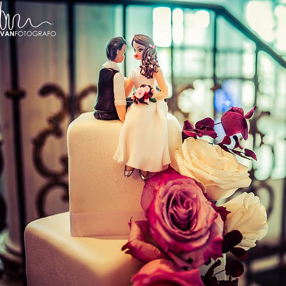 Figuritas para el pastel de bodas