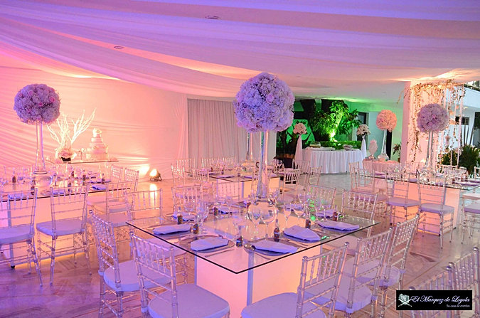 Casa de lujo eventos for Decoracion de salones para eventos