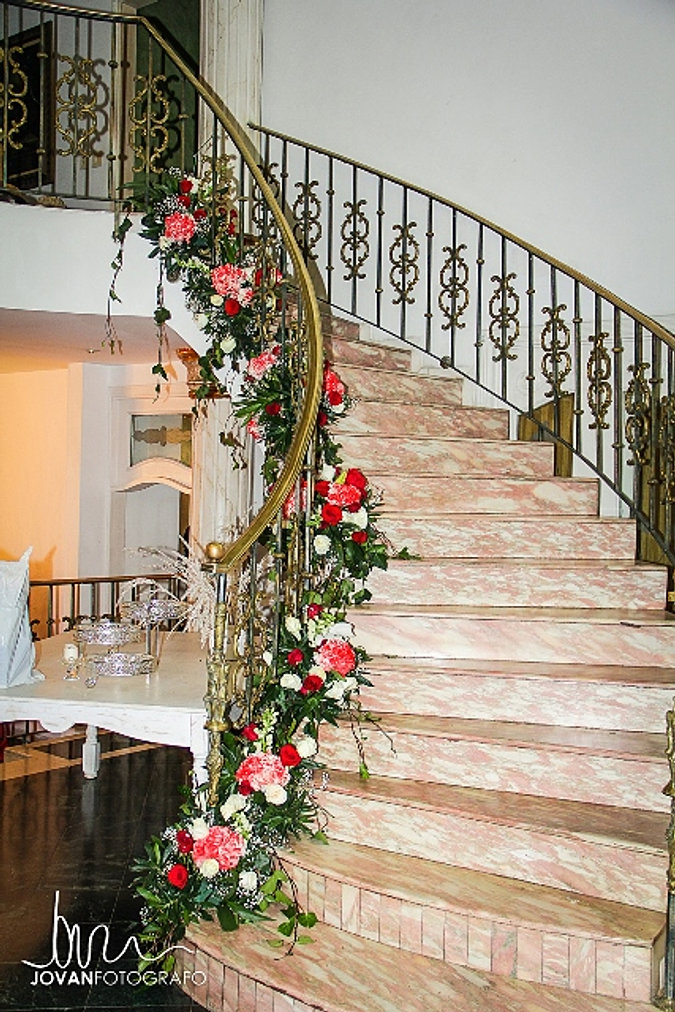 Casas campestres y fincas para bodas - Decoracion escaleras ...