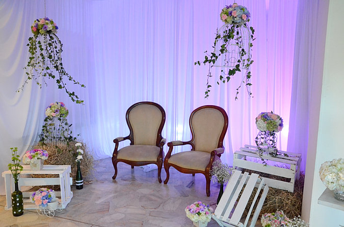 Casas campestres y fincas para bodas for Decoracion casa anos 60