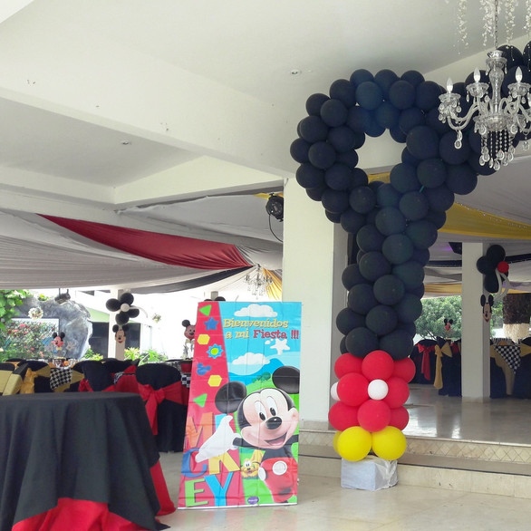 Decoracion de Mickey Mouse