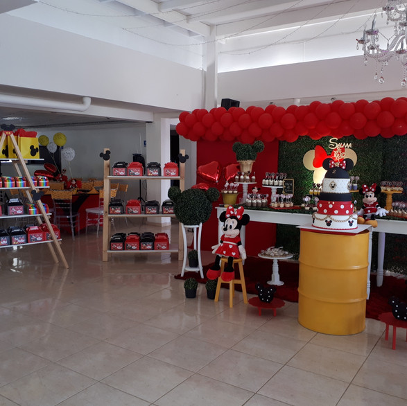 Decoracion Minnie y Micky Mouse