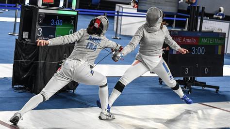Championnats du Monde de sabre M20 : Amalia Aimé et Paco Boureau jusqu'en Quarts