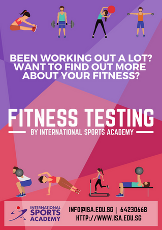 ISA Fitness Testing @ actiFIT Asia 2019