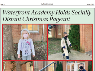 Christmas Pageant Gets FULL Page Treatment