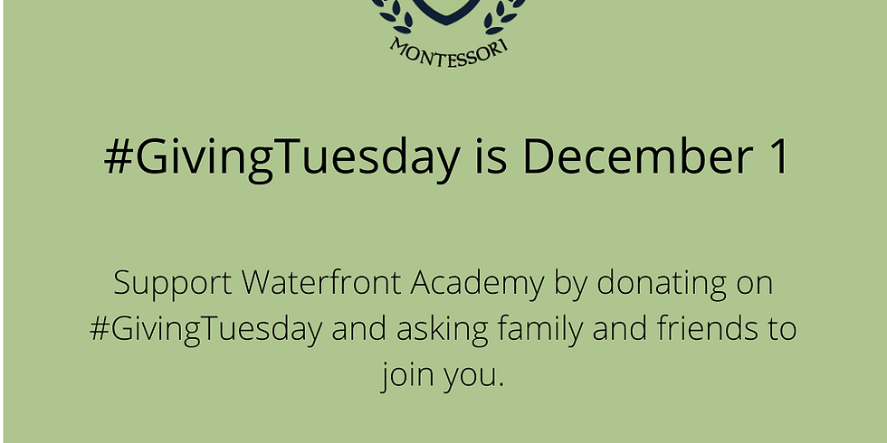 GivingTuesday to kick off the Annual Giving Campaign