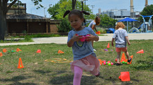 Waterfront Academy WON the DC Healthy Tots Wellness Physical Challenge