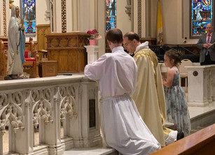 Waterfront Academy Holds a Very Sacramental Spring (with a May Crowning too!)