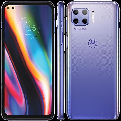 "Smartphone Motorola Moto G 5G Plus Lilás Prisma 128GB, 8GB RAM, Tela 6,7"","