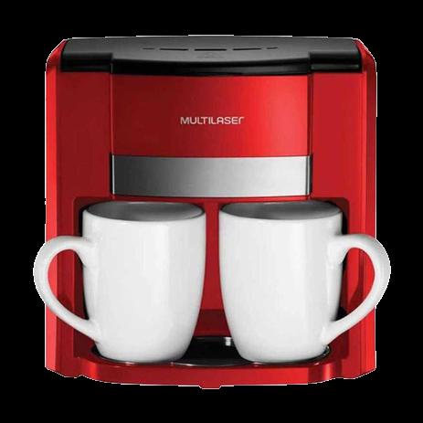 cafeteira elétrica multilaser 220v 500w 2 xícaras + colher dosadora + filtro per