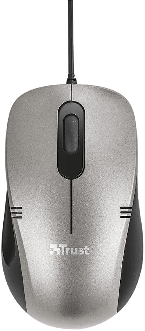 Mouse Trust Ivero Compact USB preto