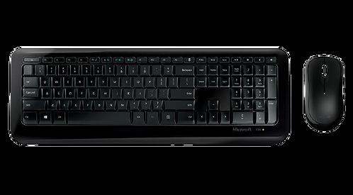 Teclado E Mouse - Sem Fio - Microsoft Wireless Desktop 850