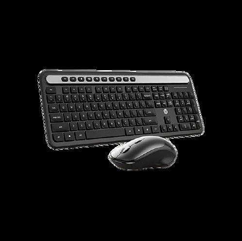 Kit Teclado e Mouse HP Sem Fio CS500 Preto - HP