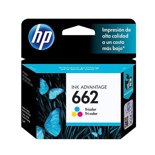Cartucho Original HP 662 Ink Advantage CZ104AB Color