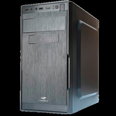 Gabinete C3Tech Micro-ATX com Fonte