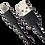 Thumbnail: Cabo Usb Smartogo Type-C Blindado Preto Multilaser WI396