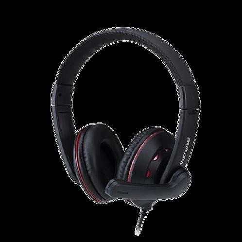 Headset Gamer P3+P2 Preto Multilaser PH335