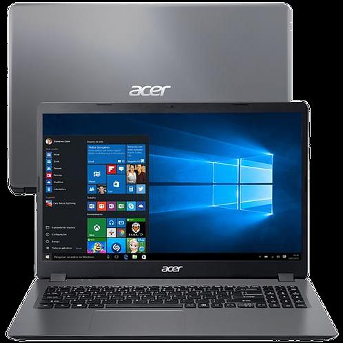 "Notebook Acer Core i3-1005G1 8GB 512GB SSD Tela 15.6"" Windows 10 Aspire 3 A315-5"