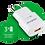 Thumbnail: Carregador USB Intelbras EC1 Quick Branca