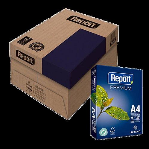 Caixa 10 Resma Papel Sulfite A4 Branco Premium 500 Folhas