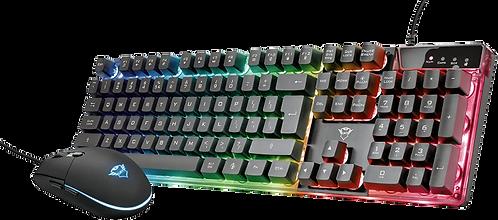 Combo Gamer Teclado + Mouse Trust Azor GXT 838 T23289