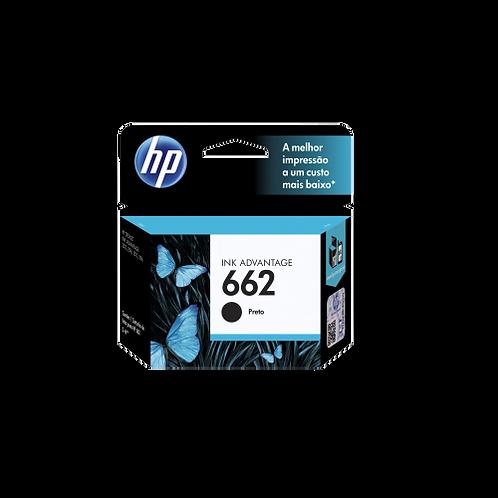 Cartucho de Tinta HP - Preto 662