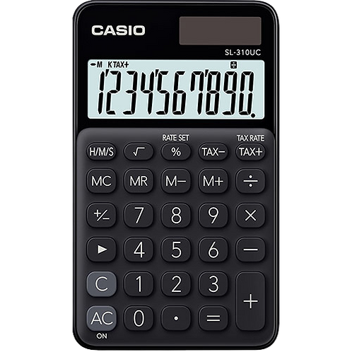 Calculadora de Bolso Dig SL-310UC  CASIO