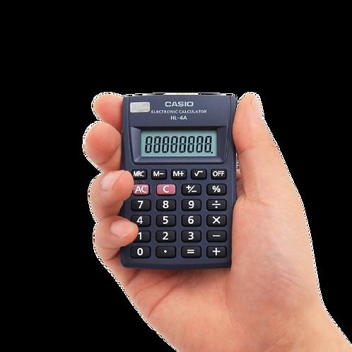 Mini Calculadora de Bolso HL 4A - Casio
