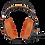 Thumbnail: PULSE HEADPHONE PREMIUM WIRED LARGE LARANJA - PH239