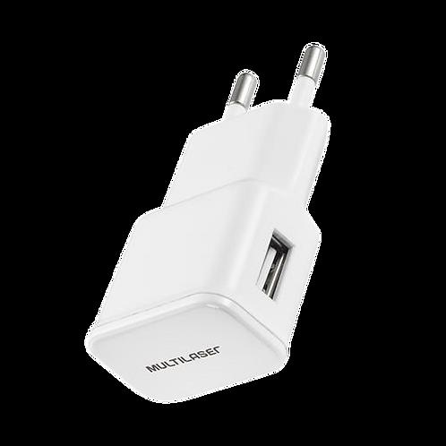 Carregador De Parede Smartogo USB Cb104 Multilaser