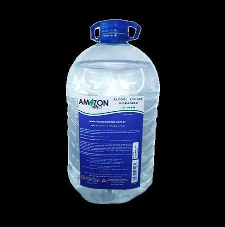 Álcool Etílico 70º Hidratado 5 litros Amazon In Out