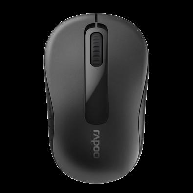 Mouse Rapoo 2.4 Ghz Black Garantia 5 Anos Com Pilha - M10 - RA007