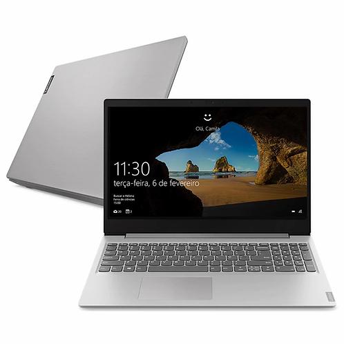 "Notebook Lenovo Dual Core 4GB 128GB SSD Tela 15.6"" Windows 10 Ideapad S145 81WT0"