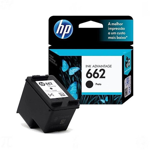 Cartucho Original HP 662 Ink Advantage CZ103AB Preto