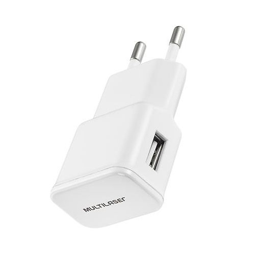 Carregador USB Branco Multilaser