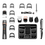 Thumbnail: Aparador de Pelos 14 em 1 Multilaser Body Groomer EB051 Bivolt