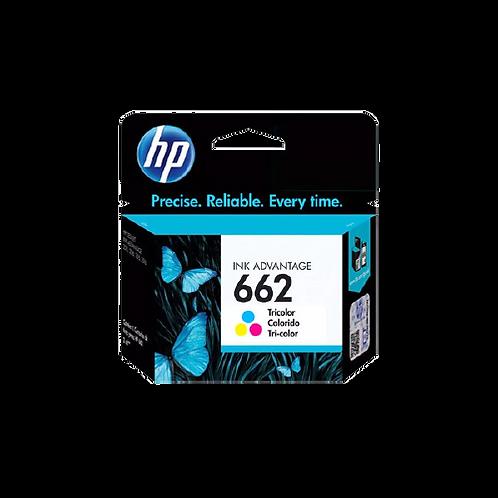 Cartucho de Tinta HP - Colorido 662