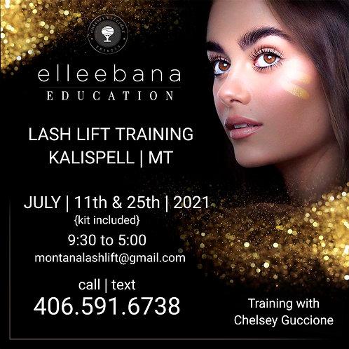 July 11th '21 Elleebana Lash Lift Education