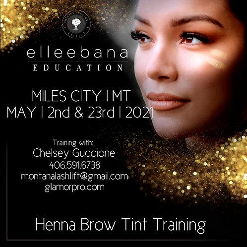 May 23rd '21 Elleebana Henna Brow Education