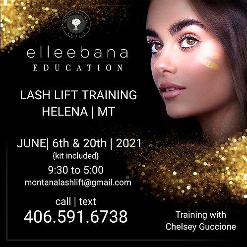 June 6th '21 Elleebana Lash Lift Education