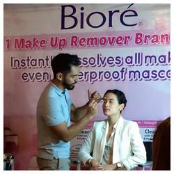 Biore's Press Launch