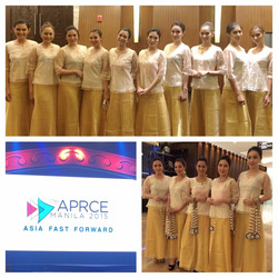 Leading Edge Models for APRCE Event 2015 at Marriott