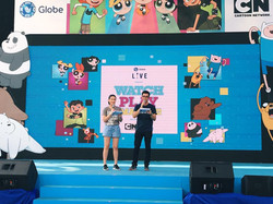Globe X Cartoon Network Event