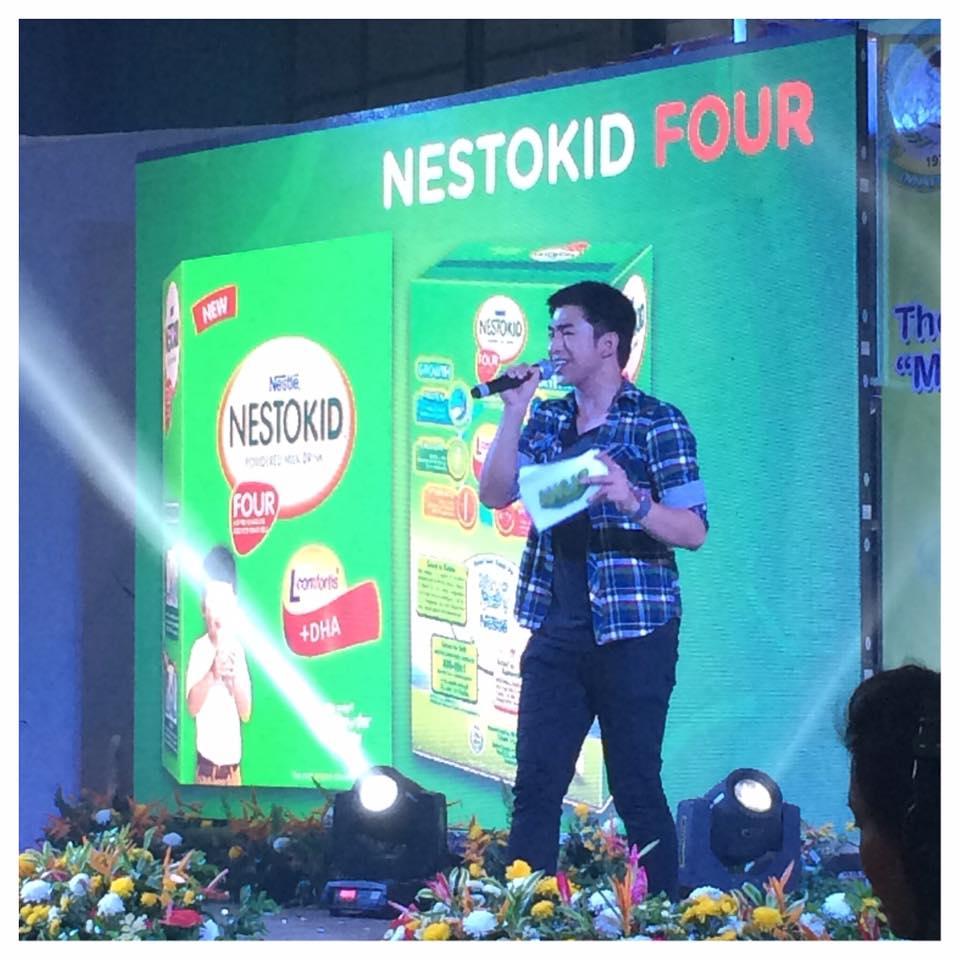 CJ Reyes Hosting for the Nestogen (Segment) Event