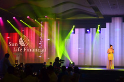 Morissette performs at the Sunlife Event